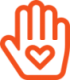 Icon einer Hand